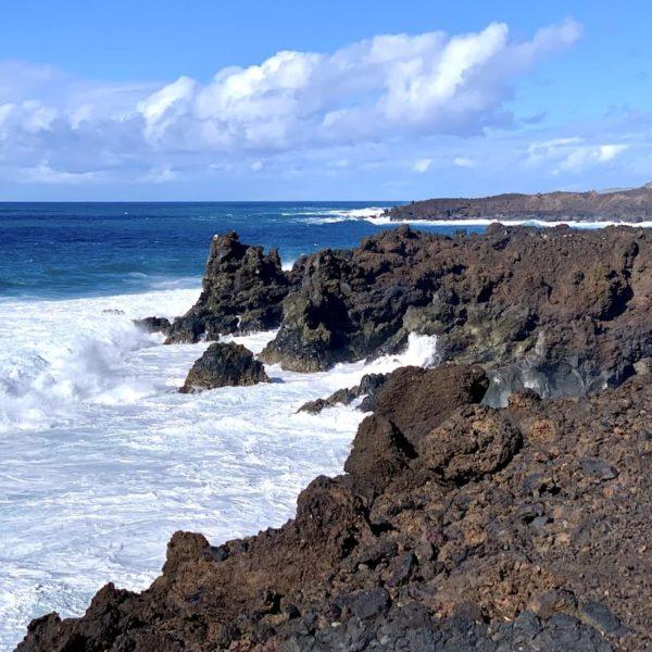 Lava-Felsen Los Hervideros Lanzarote