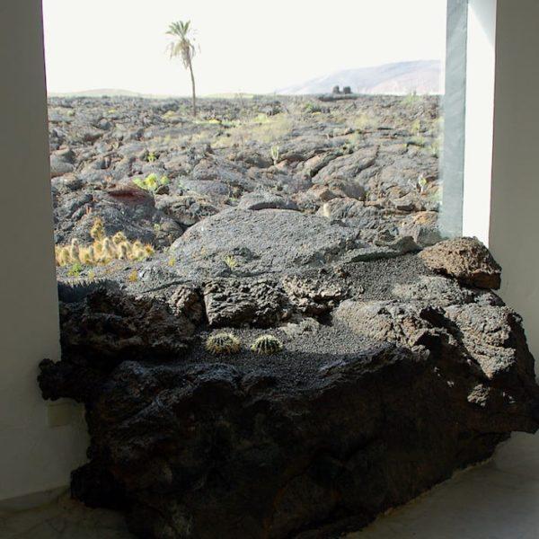 Lava Fenster Fundación César Manrique