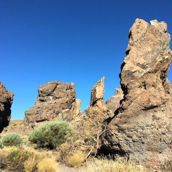 Lava-Formationen Mirador Llano de Ucanca Teide Nationalpark
