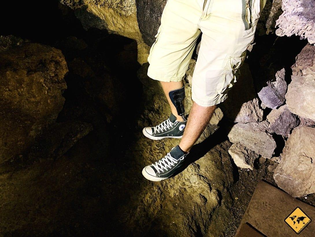 Lavaboden Höhle