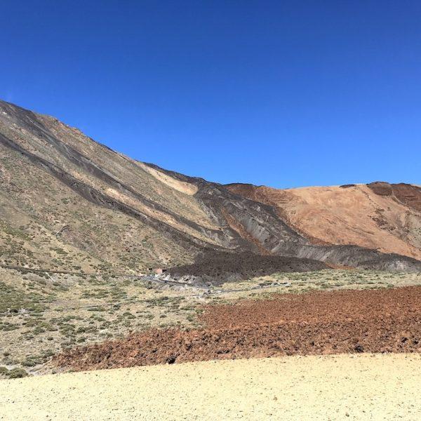 Lavafelder Teneriffa wandern Teide Nationalpark Sendero 16