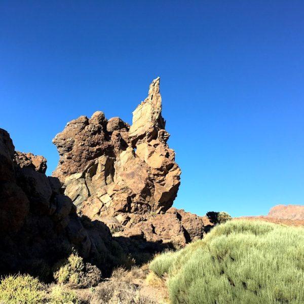 Lavafels Roques de García Teneriffa wandern