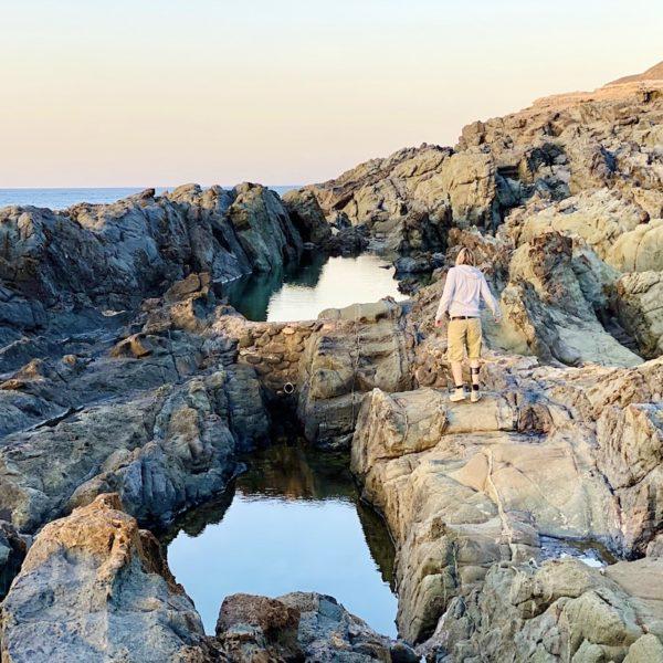 Lavafelsen Aguas Verdes Fuerteventura Geheimtipp