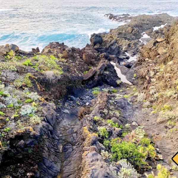 Lavafluss Meer Buenavista del Norte