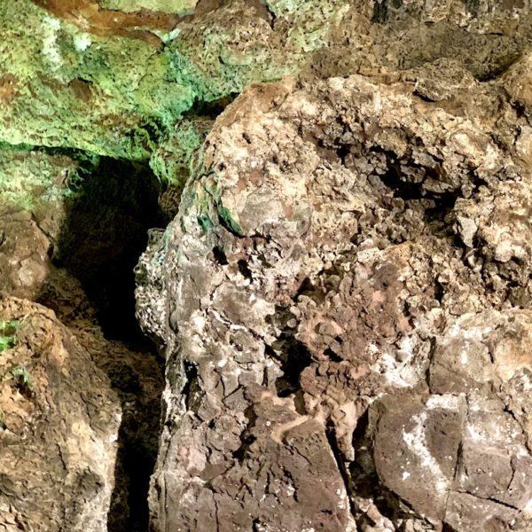 Lavaformationen Cueva de los Verdes Lanzarote