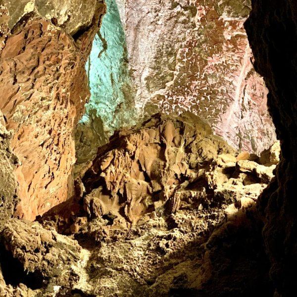 Lavagestein Cueva de los Verdes