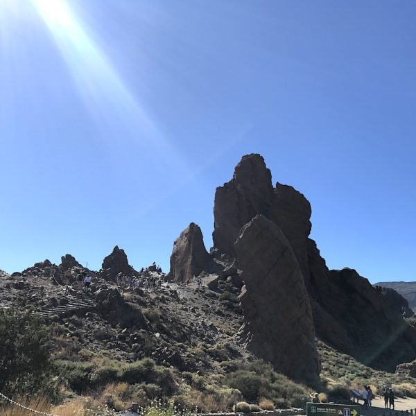 Lavagestein Nationalpark Teide Roques de Garcia