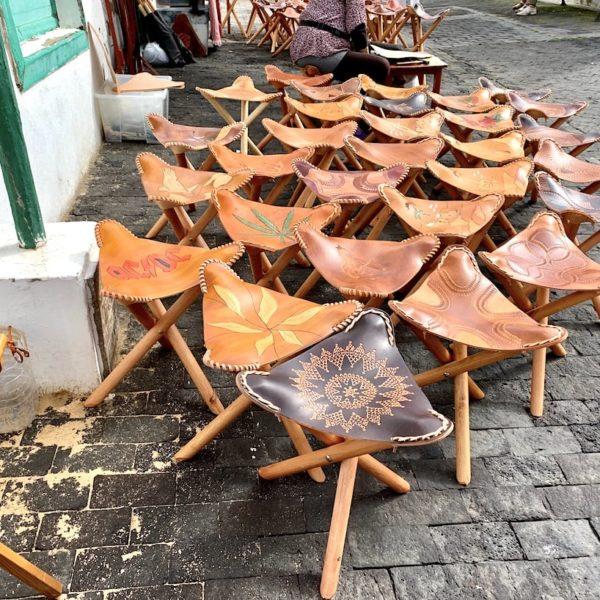 Lederstühle Markt Teguise Sonntag