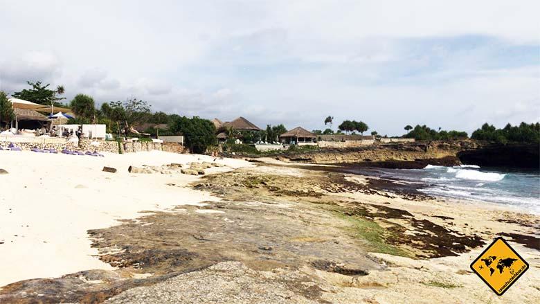 Lembongan Island Sandy Bay Tagesausflug