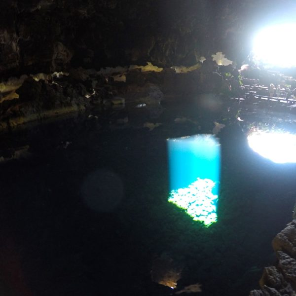 Lichtreflektion Jameos del Agua Lanzarote
