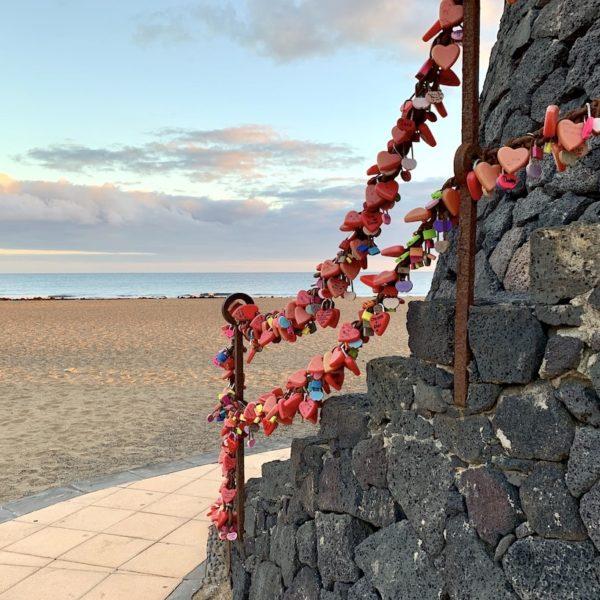 Liebesschlösser Puerto del Carmen Lanzarote
