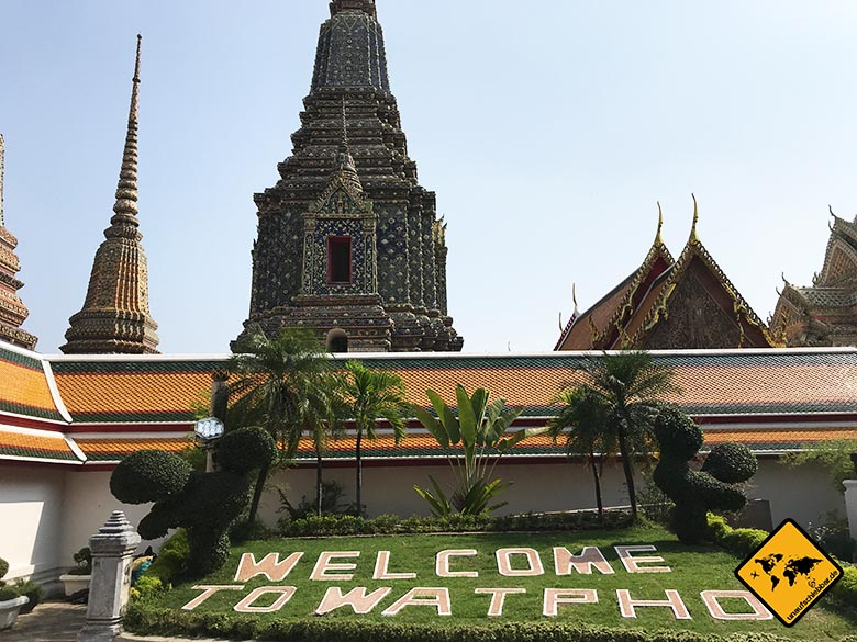 Liegender Buddha Bangkok Park