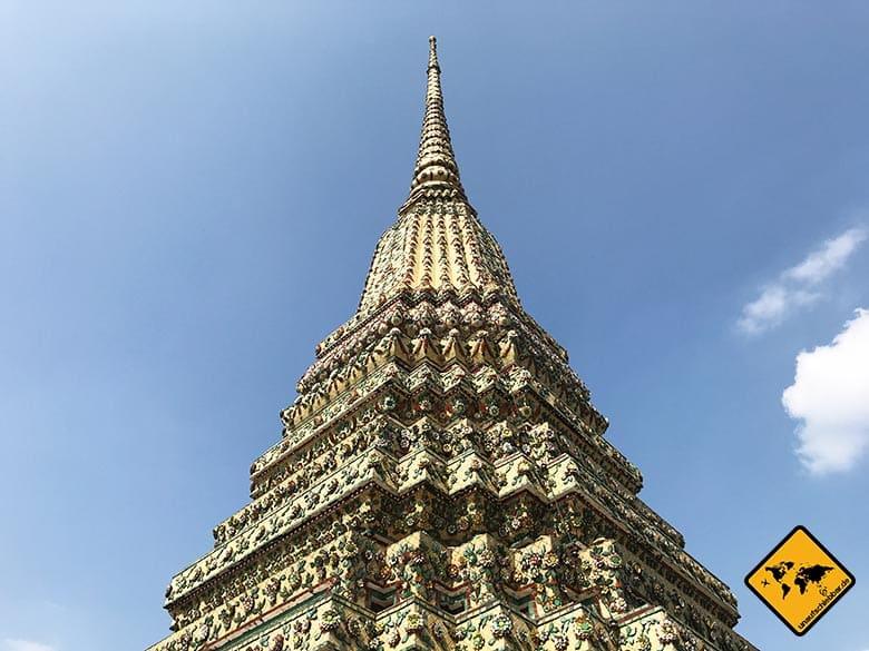 Liegender Buddha Bangkok Tempelturm