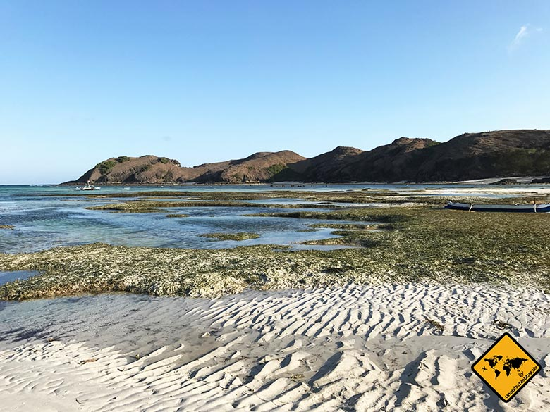 Lombok Beach Kuta Ebbe