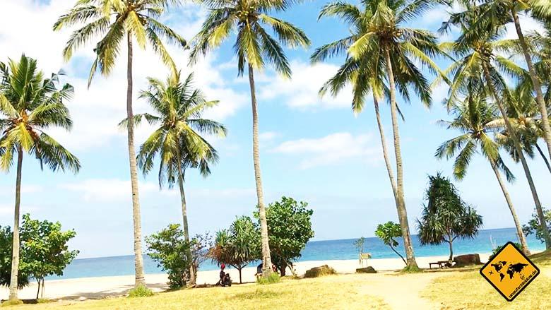 Lombok Beach Setangi 3 Zufahrt
