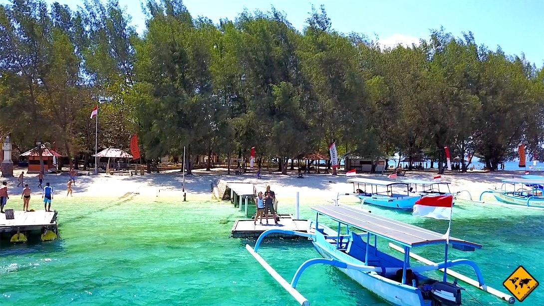 Lombok Gili Nanggu Hafen
