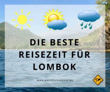 Die beste Lombok Reisezeit: Der deutsche Sommer?