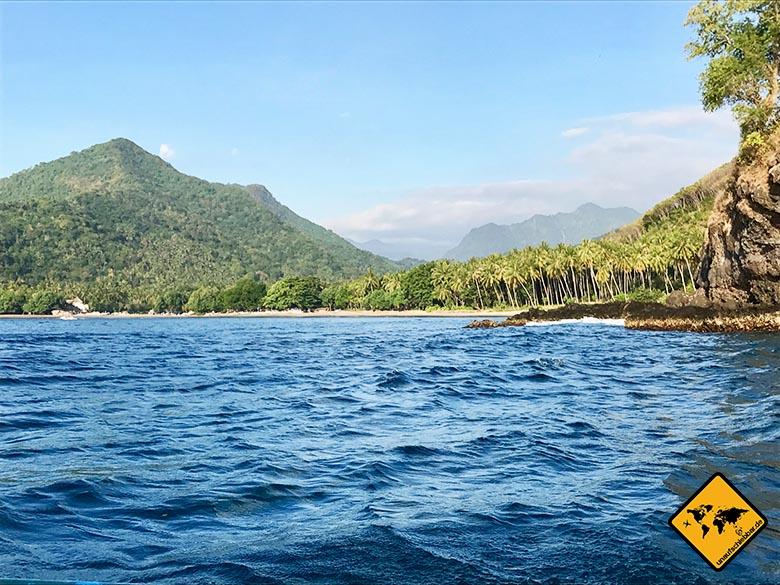 Lombok Sträende Schnorchel Ausflug