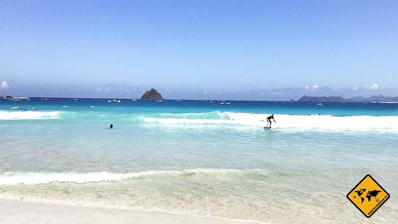 Lombok Strände surfen Selong Belanak