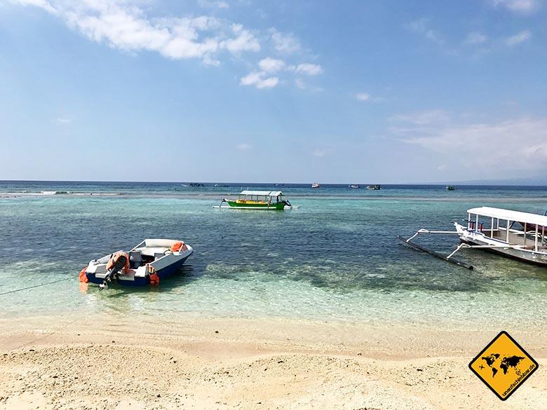 Lombok Strand Gili Meno