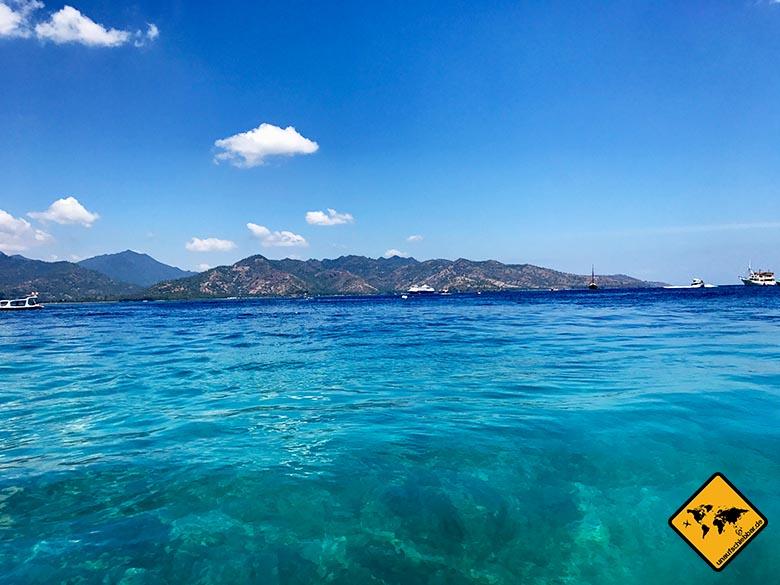 Lombok Urlaub Gili Inseln