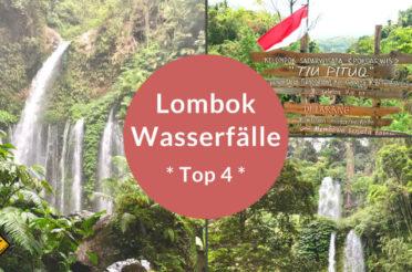 Lombok Wasserfälle im Nordwesten: Unsere Top 4