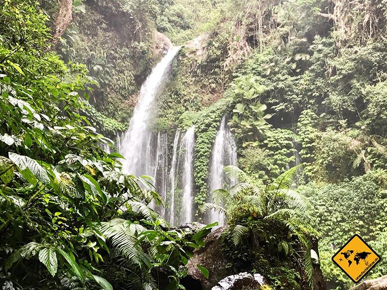 Lombok Wasserfälle Tiu Kelep