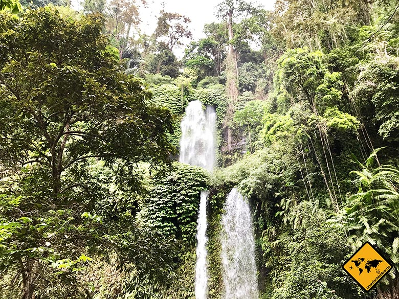 Lombok Wasserfall Sendang Gile Senaru