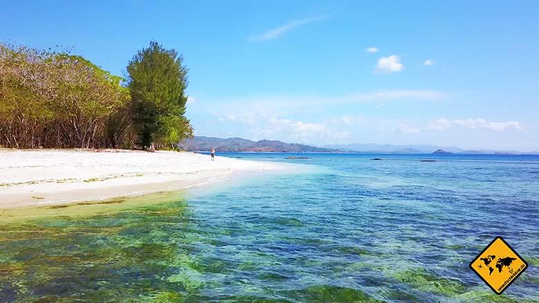 Lombok oder Bali Gili Nanggu