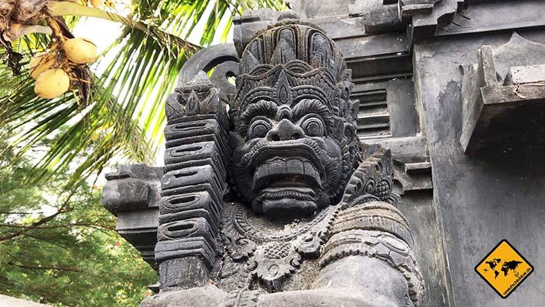 Lombok oder Bali Kultur
