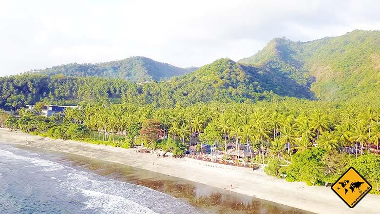 Lombok oder Bali Natur