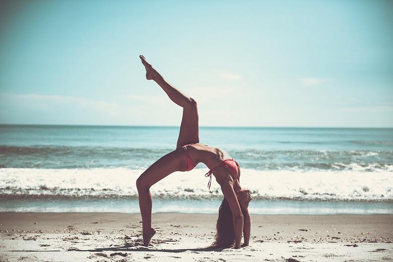 Lombok oder Bali Yoga