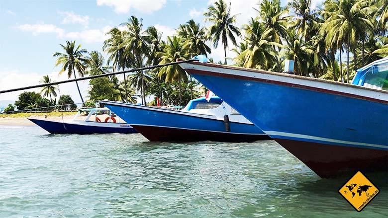 Lombok und Bali Boot
