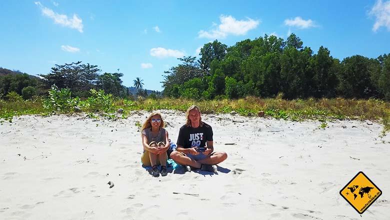 Lombok und Bali Paar