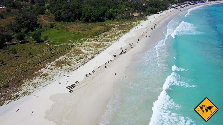 Lombok und Bali Selong Belanak