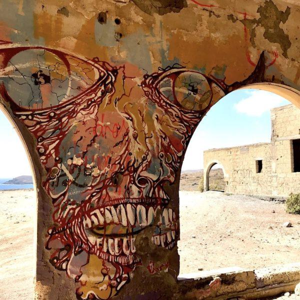 Lost Places Teneriffa Graffiti Abades Geisterstadt