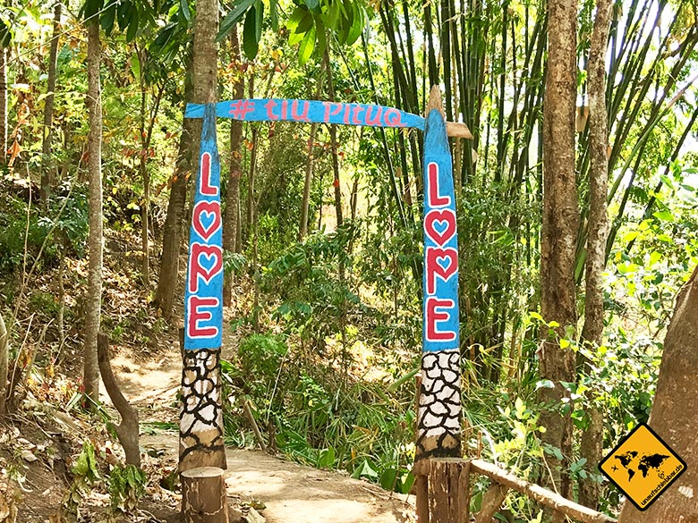 Love Lope Wasserfallpark Tiu Pituq