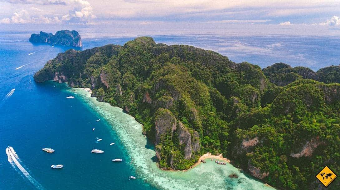 Luftaufnahme Koh Phi Phi