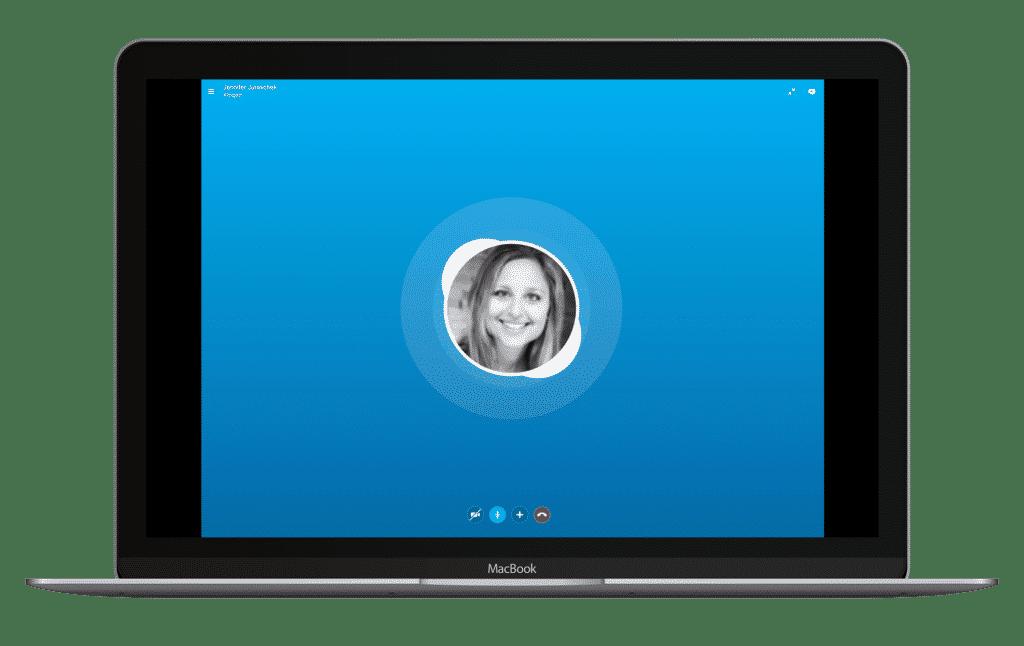 MacBook Skype