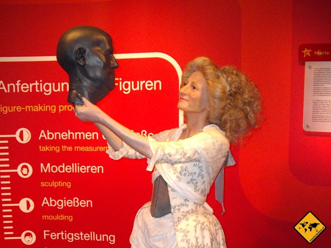 Madame Tussauds Wachsfiguren Herstellung