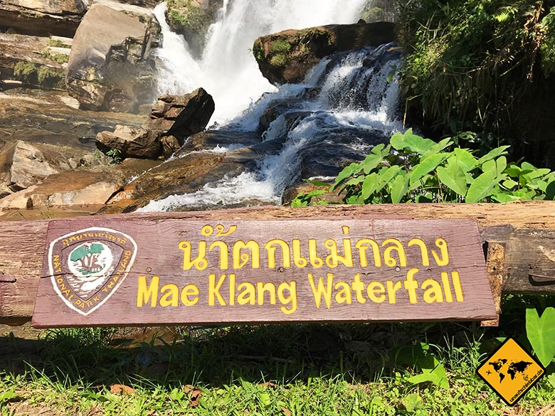 Mae Klang Waterfall Doi Inthanon Nationalpark