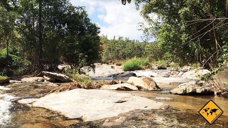 Mae Klang Waterfall oberer Bereich