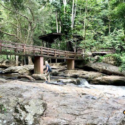 Mae Sa Waterfalls Brücke