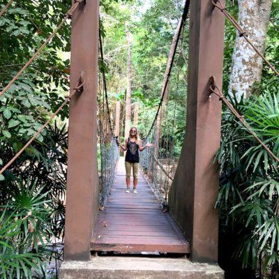 Mae Sa Waterfalls Brücke Level 1