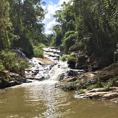 Mae Sa Waterfalls Endpunkt