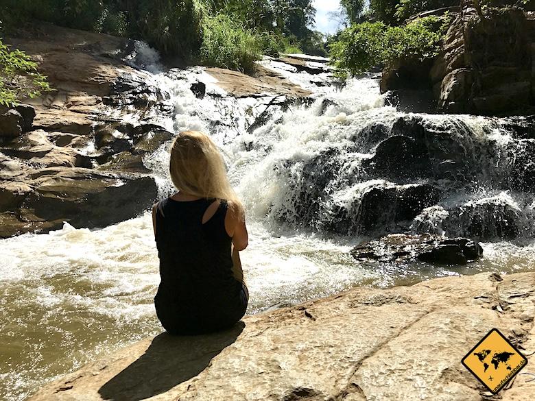 Mae Sa Waterfalls Entspannung