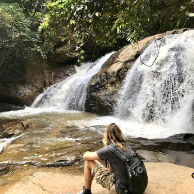 Mae Sa Waterfalls Größe