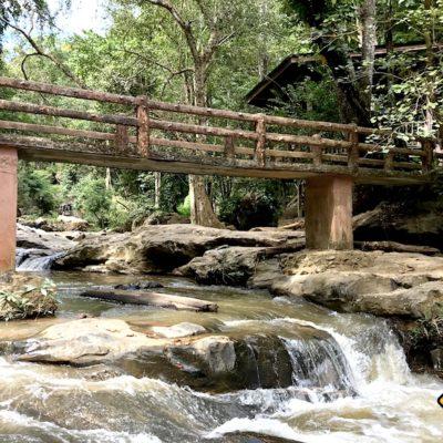 Mae Sa Waterfalls Übergang
