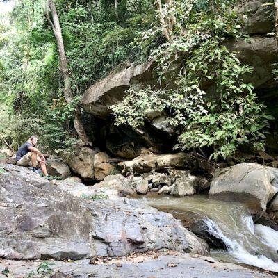 Mae Sa Waterfalls entspannen