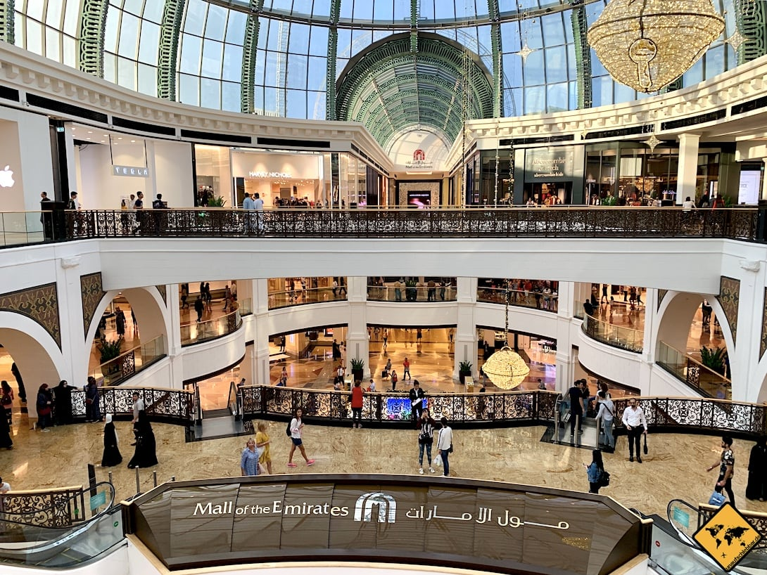Mall of the Emirates innen